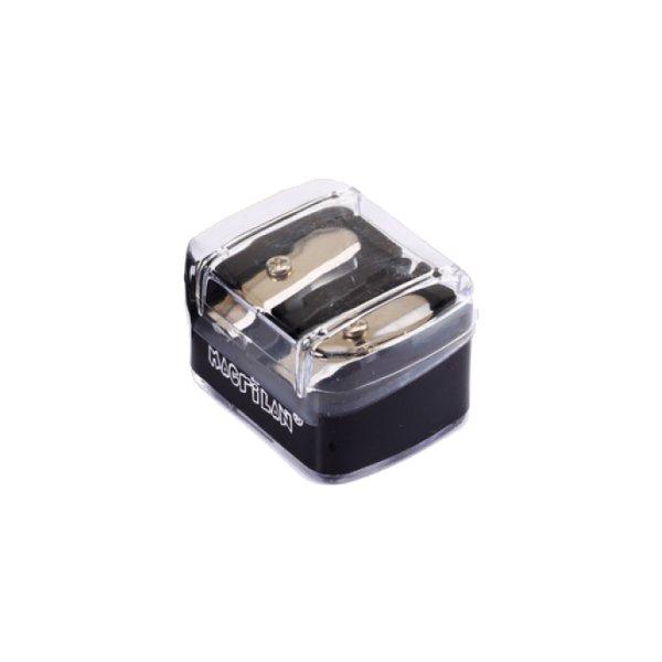 Apontador Duplo De Lápis Para Maquiagem (AP-01) - Macrilan