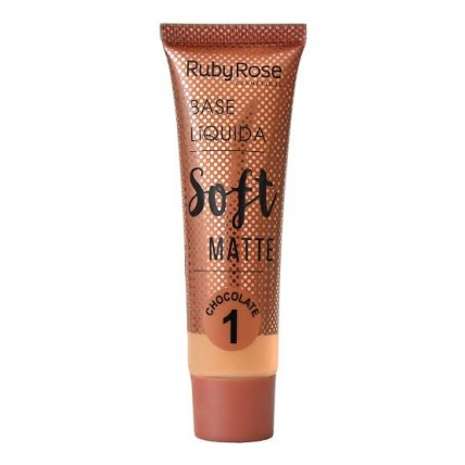 Base L铆quida Soft Matte Chocolate 1 - Ruby Rose