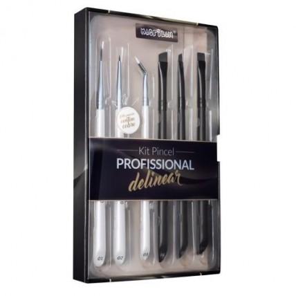 WB700 – Kit Pincel Profissional para Delinear – Macrilan