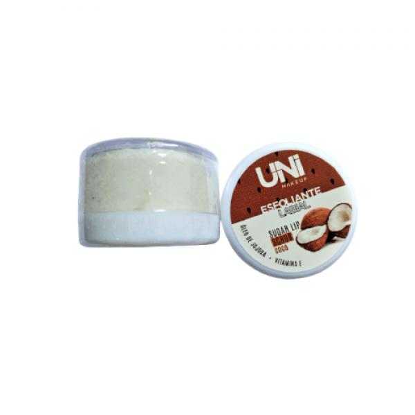 Esfoliante Labial Potinho – Uni Makeup - Coco