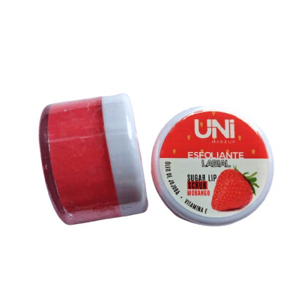 Esfoliante Labial Potinho – Uni Makeup - Morango