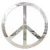 Espelho decorativo - Paz e amor