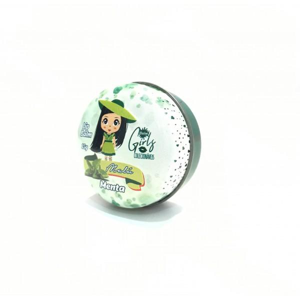 Lip Balm Girls Colecionáveis Phállebeauty - Menta