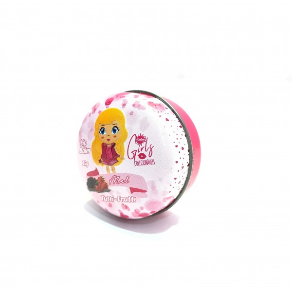 Lip Balm Girls Colecionáveis Phállebeauty - Tutti-Frutti