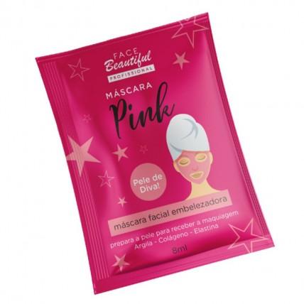 M谩scara Facial Embelezadora Pink Face Beautiful