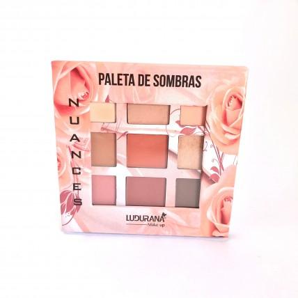 Paleta de sombras Nuances - Nude - Ludurana