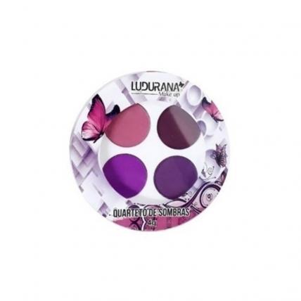 Quarteto de sombras Nuance - Ludurana - Cor Roxo