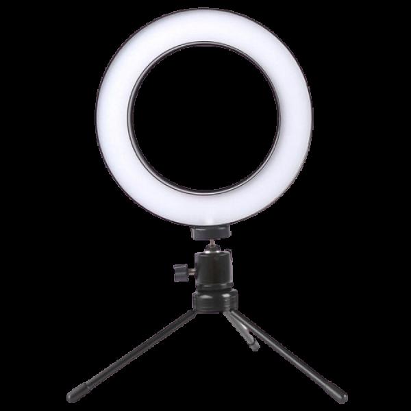 Ring Light de Bancada - Luz Anel + Tripé