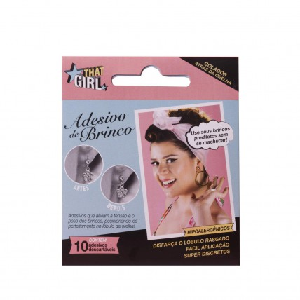 That Girl Fashion Dots - Adesivo para Brincos (10 unidades)